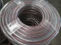 electric wire flexible hose pvc steel wire spiral hose spring hose
