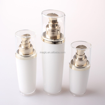 30ml 50ml 100ml Empty acrylic bottle lotion bottle pump bottle