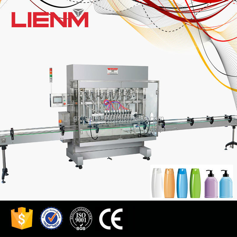 Guangzhou Factory Bottle Filling Capping And Labeling Machine