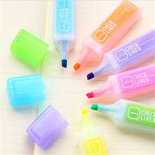 Fluorescent Multi Color Highlighter Marker Pen