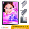 Philippines aluminum snap frame light box for advertising illuminated led sandwich board