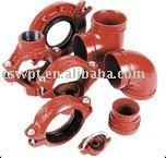 Grooved fittings UL/FM approved