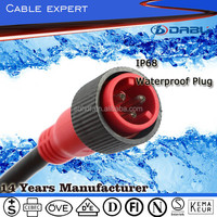 Good Price IP68 Electrical Male To Male Outdoor Waterproof Extension Cord With VDE Approval