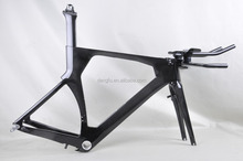 100% toray carbon fiber timetrial bicycle frame Fm086 triathlon bike dengfubike hot sale