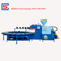 PVC Air Blown slipper shoes soles injection moulding Machine