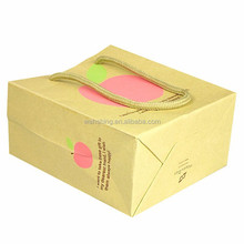 Wholesale High-end popular fruit paper bag made in china