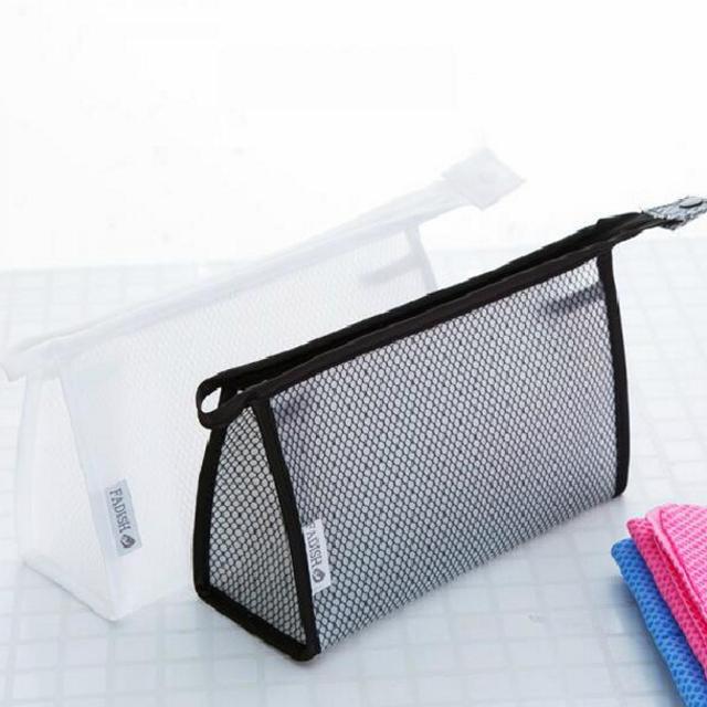 New Arrival waterproof folding pvc cosmetic bag vinyl mini for certificates