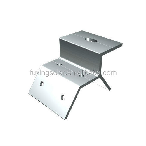 FS-MR-VI04 Trapezoidal Metal Roof clamp for residential or commercial tin roof solution racking solution