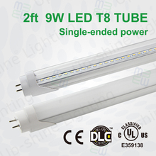 Manufactory supply 2015 best selling 9W 900-945lm patent design relaible quality t8 18w led dlc
