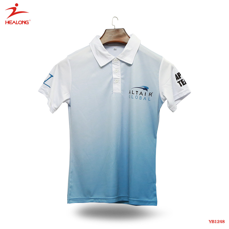Guangzhou No Label China Factory Dry Fit New Design Sublimated Custom Mens Polo Shirts