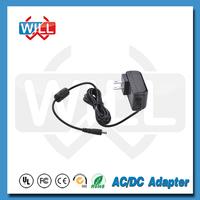 Wall-mount 12v 1a adaptor EU US AU UK plug ac/dc power adapter