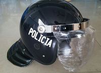 2014 HOT SALE ANTI RIOT HELMET WITH STEEL FRAME FOR POLICE AND MILITARY