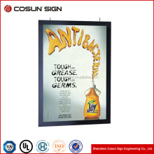 Popular sale window display custom light box sign