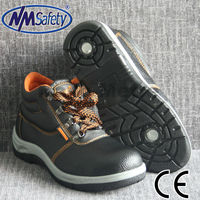 NMSAFETY lowest safety shoes type PVC footwear brand safety shoes