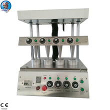 Automatic electrict hand holding cone pizza moulding machine, pizza cone production line maker