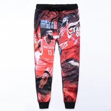 New arrival sweatpants 3D printed James Harden basketball jogging joggers casual pants women/men outfit clothes sweatpants
