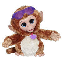 Baby cuddles my giggly monkey pet plush toy/fashion plush toy/make your own design plush doll