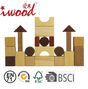 High-end Exquisite Hand Craft Natural Wooden Building Blocks