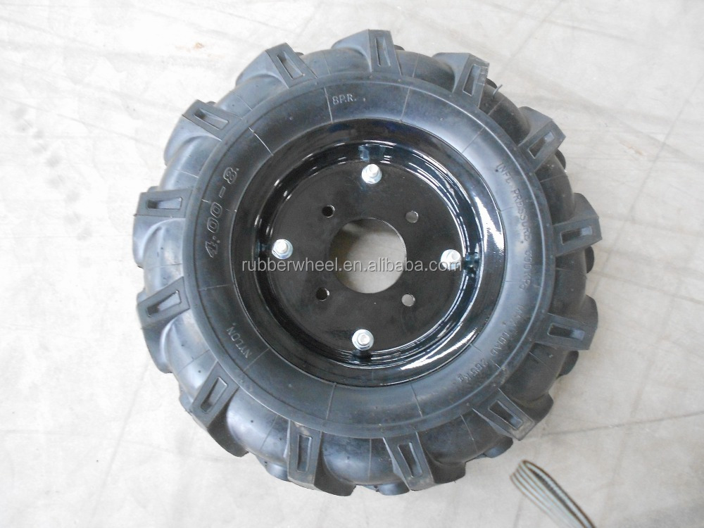 mower tractor pneumatic rubber tires 4.00-8