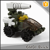 25 pcs Mini set series cannon car building blocks toy