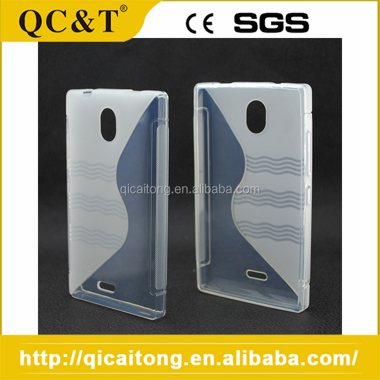Oem Service Waterproof S Line Tpu Phone Case For Nokia 925