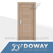 Quality fancy designer PVC door fiber bathroom door price