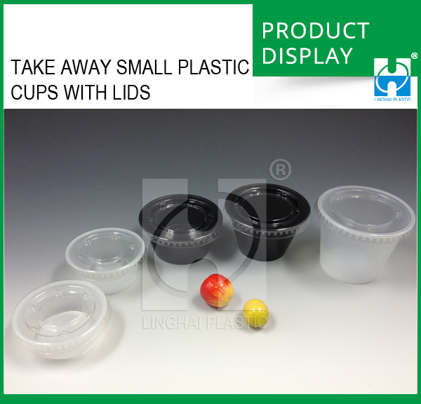 Take Away Small Plastic Cups With Lids