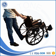 Best selling company for disabled swing away footrest manual wheelchair