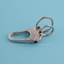 Fancy decorative food shape key chain/ metal key ring