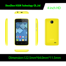 China Cheap 4 Inch Screen Mobile Phone Low Price China Unlocked Smart Cell Phone