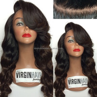 Wholesale Brazilian hair full lace human hair wig making supplies