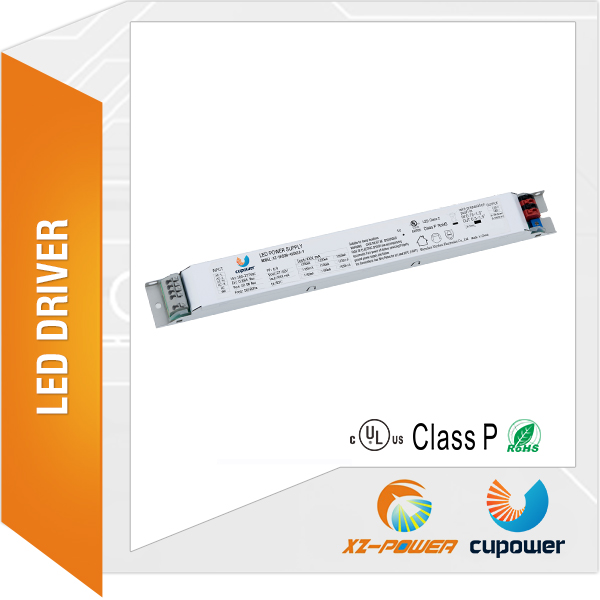 ac 100-277v dc 27-42v 0-10v dimmable and no flicker dip switch 400ma-700ma led tubelight driver
