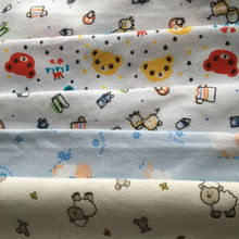 customized cute print broadcloth fabric for baby product