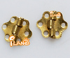Doll house fairy furniture hardware hinges 2 pcs for door/drawer OA00618