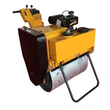 walk behind single drum vibratory mini road roller