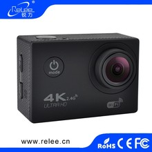 Waterproof 4k 30FPS 16M Ultra HD Sport DVR Action Video Camera For Outdoor DV with remote control