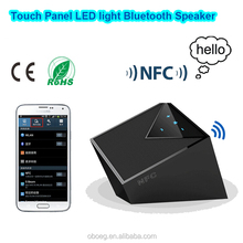 Portable wireless mini bluetooth speaker with NFC function