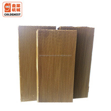 Goldenest poultry evaporative cooling pad for poultry farm honeycomb cooling pads for poultry houses greenhouse JCZY-CO05