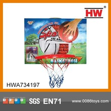 kids mini plastic basketball hoop sport toy mini basketball hoop