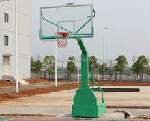 High quality indoor/outdoor portable Imitation hydraulic basketball stand/system