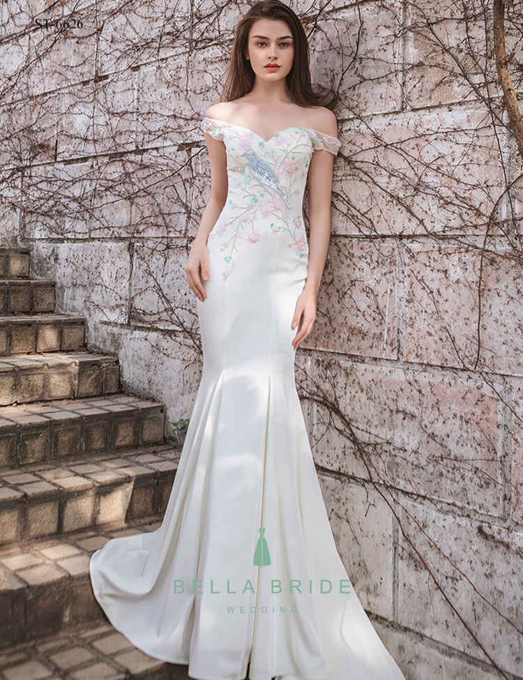 Alibaba China Wedding Gowns Wedding Dress Fish Tail Bridal Gown ...