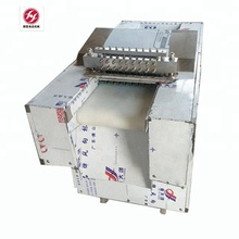 Frozen Chicken Fish Meat Dicer Cutter Cutting machine