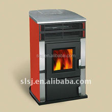 2017 hotsale Smokeless Wood Pellet Stove with Remote control