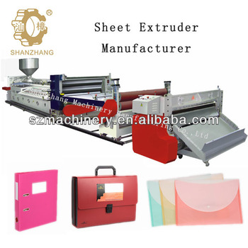 PE foamed sheet extrusion machine,PP foamed sheet extrusion machine,Dimension 14*2.4*2.8m