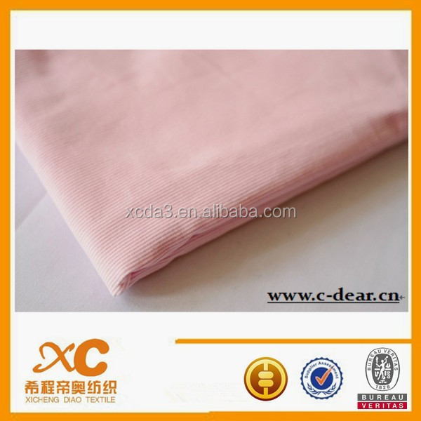 plain dyed stripe uniform construction corduroy fabric