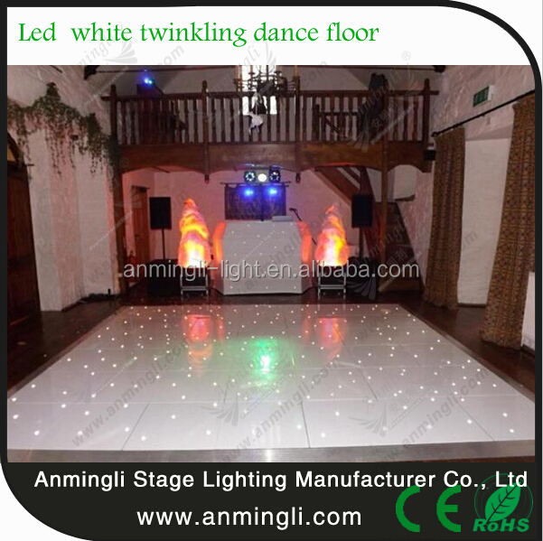 led light party stage disco dj twinkling starlit led danced floor