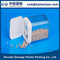 Popular 55*55*85cm rectangle PS plastic box,55*55*85cm rectangle clear square plastic candy container