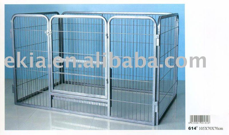 metal folding dog crate