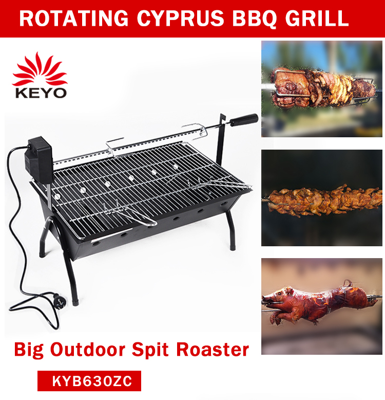 suckling pig roaster cyprus bbq grill outdoor charcoal rotating bbq electrical motor cyprus grill spit rotisserie