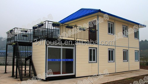 china prefabricated house for dormitory,Hotel and Bar/modern prefab house